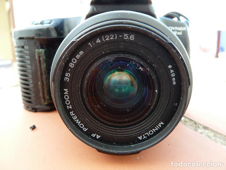 Cámara de fotos: CAMARA MINOLTA DYNAX 3XI CON OBJETIVO MINOLTA 35-80MM INCLUYE FILTRO SIONI 49MM - Foto 12 - 62917228