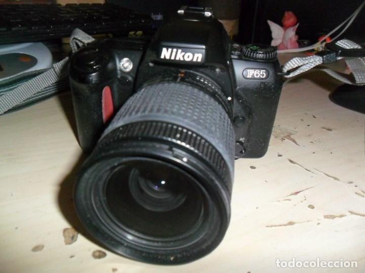 CAMARA NIKON F65 - CUERPO CAMARA NEGRO - OBJETIVO NIKON NIKKOR 28-80 MM - LEER RESTO DESCRIPCION (Cámaras Fotográficas - Réflex (autofoco))