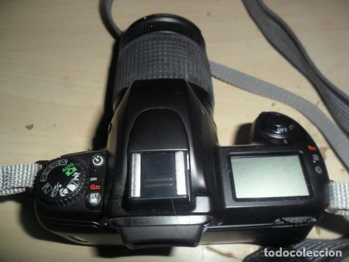 Cámara de fotos: CAMARA NIKON F65 - CUERPO CAMARA NEGRO - OBJETIVO NIKON NIKKOR 28-80 MM - LEER RESTO DESCRIPCION - Foto 2 - 69606465