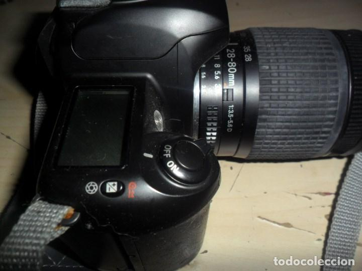 Cámara de fotos: CAMARA NIKON F65 - CUERPO CAMARA NEGRO - OBJETIVO NIKON NIKKOR 28-80 MM - LEER RESTO DESCRIPCION - Foto 3 - 69606465