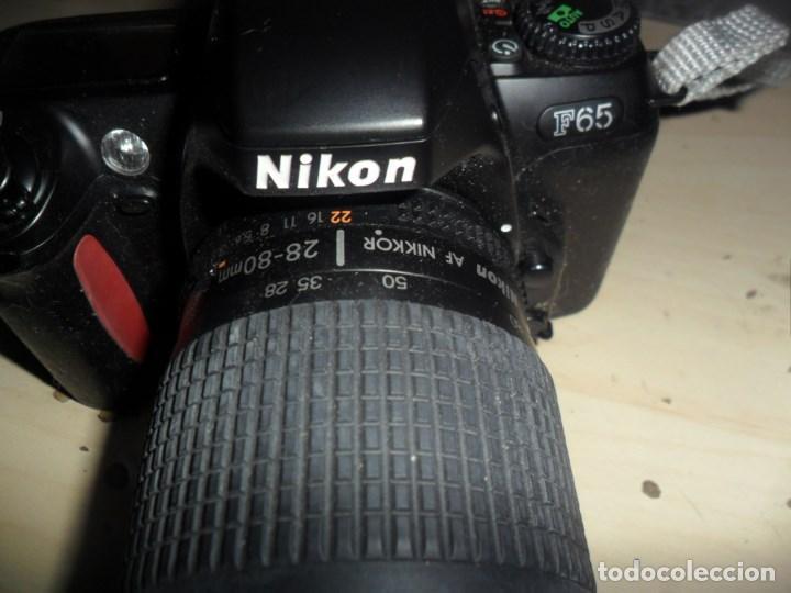 Cámara de fotos: CAMARA NIKON F65 - CUERPO CAMARA NEGRO - OBJETIVO NIKON NIKKOR 28-80 MM - LEER RESTO DESCRIPCION - Foto 4 - 69606465