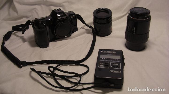 CAMARA FOTOGRAFICA MINOLTA DYNAX 7000I CON OBJETIVOS (AF 100-300 Y AF 35-80) (Cámaras Fotográficas - Réflex (autofoco))