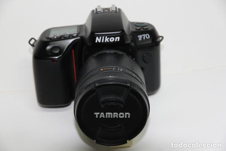 NIKON F70 + TAMRON 28-200 MM./3,8-5,6 AF IF LD ASPHERICAL + PARASOL ESPECÍFICO (ANALÓGICAS- DIGITAL) (Cámaras Fotográficas - Réflex (autofoco))