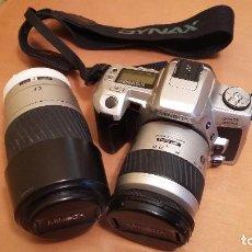 Cámara de fotos: CÁMARA MINOLTA DYNAX 505SI CON OBJETIVOS ZOOM 28-80 Y 75-300. Lote 80378009
