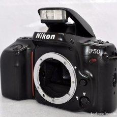Cámara de fotos: EXCELENTE CUERPO DE CAMARA REFLEX, NIKON F-50 .SOLO CUERPO..JAPON 1994..PERFECTA..FUNCIONA. Lote 80872091