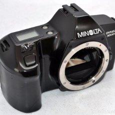 Cámara de fotos: EXCELENTE REFLEX.MINOLTA DYNAX 3000 I..JAPON 1990...FUNCIONA..OCASION ..PEQUEÑO DEFECTO COSMETICO. Lote 81066512