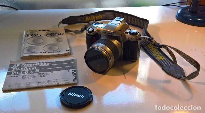 NIKON F65 Y AF ZOOM NIKKOR 28-80 MM (Cámaras Fotográficas - Réflex (autofoco))