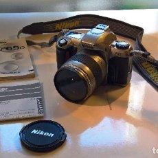 Cámara de fotos: NIKON F65 Y AF ZOOM NIKKOR 28-80 MM. Lote 84510492