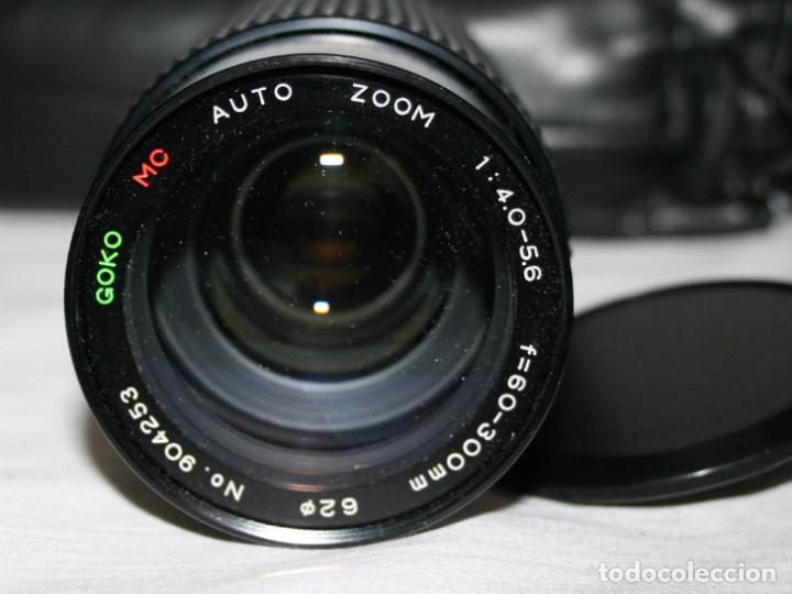 Cámara de fotos: CAMARA DE FOTOS YASHICA 108, OBJETIVO 35-70, ZOOM MACRO 60-300, FLASH SUNPAK 455, BUEN ESTADO - Foto 8 - 86889604