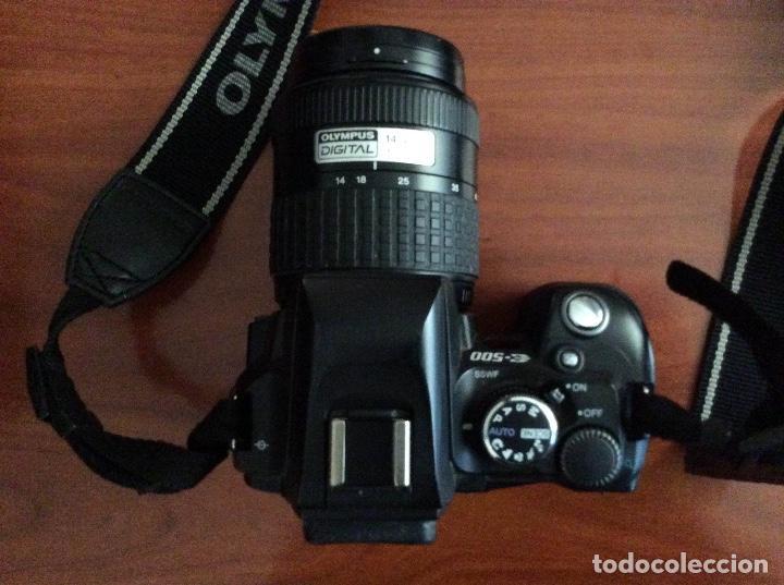 Cámara de fotos: Equipo Olympus E-500 con 2 objetivos Zuiko de Olympus y complementos - Foto 2 - 87173412