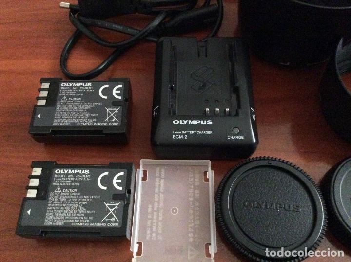 Cámara de fotos: Equipo Olympus E-500 con 2 objetivos Zuiko de Olympus y complementos - Foto 5 - 87173412