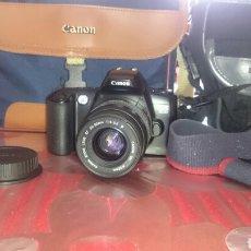 Cámara de fotos: CÁMARA FOTOS CANON EOS 500,FUNCIONANDO.. Lote 91452509