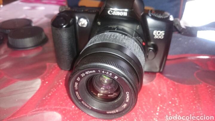 Cámara de fotos: Cámara fotos canon eos 500,funcionando. - Foto 2 - 91452509