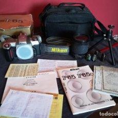 Cámara de fotos: NIKON F65 BLACK (OBJ. 28-80). Lote 94389118