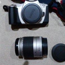 Cámara de fotos: CÁMARA DE FOTOS CANON EOS 300 CON BOLSA TRANSPORTE NEGOCIABLE. Lote 95496540