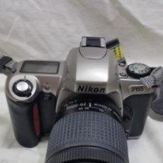 Cámara de fotos: NIKON F 65 CON FUNDA DE REGALO . Lote 95812555
