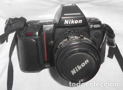 CÁMARA DE FOTOS NIKON AF, F-801S, CON SU ESTUCHE (Cámaras Fotográficas - Réflex (autofoco))