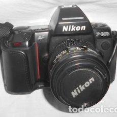 Cámara de fotos: CÁMARA DE FOTOS NIKON AF, F-801S, CON SU ESTUCHE. Lote 96760323