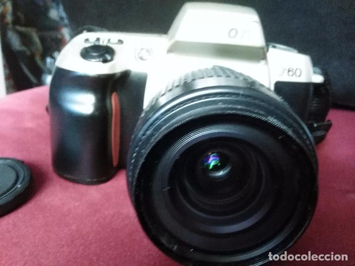 Cámara de fotos: CÁMARA FOTOGRÁFICA RÉFLEX NIKON F60 + OBJETIVO NIKKOR 35-80 MM. CONTIENE MANUAL. MÁQUINA DE FOTOS - Foto 2 - 98530251