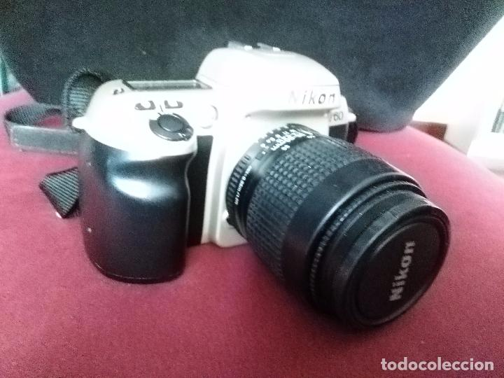 Cámara de fotos: CÁMARA FOTOGRÁFICA RÉFLEX NIKON F60 + OBJETIVO NIKKOR 35-80 MM. CONTIENE MANUAL. MÁQUINA DE FOTOS - Foto 4 - 98530251