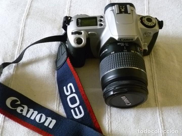 CÁMARA CANON EOS 300 CON FUNDA (Cámaras Fotográficas - Réflex (autofoco))