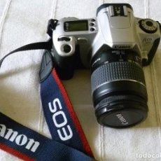 Cámara de fotos: CÁMARA CANON EOS 300 CON FUNDA. Lote 103568071