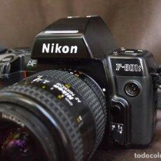 Cámara de fotos: NIKON F-801S AF, NIKKOR 28/70MM AF. Lote 104408539