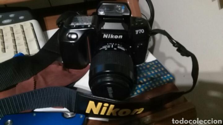 CAMARA REFLEX NIKON F70 + AF NIKKOR 35-80 (Cámaras Fotográficas - Réflex (autofoco))