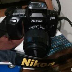 Cámara de fotos: CAMARA REFLEX NIKON F70 + AF NIKKOR 35-80. Lote 107013147