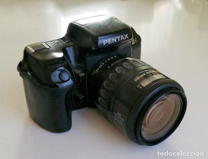 PENTAX Z1 CON 28/80 MOTORIZADO (Cámaras Fotográficas - Réflex (autofoco))
