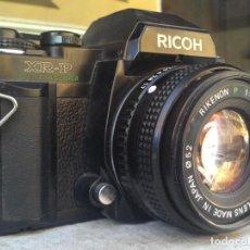 Cámara de fotos: CAMARA REFLEX RICOH XR-P + RIKENON 50 MM. Lote 108456239