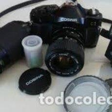 Cámara de fotos: CÁMARA COSINA C1 ANALÓGICA (DE CARRETE). Lote 110680619