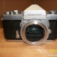 Cámara de fotos: CAMARA NIKKORMAT-NIKON. Lote 112016083