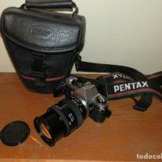 Cámara de fotos: CAMARA DE FOTOS PENTAX ME SUPER MAS OBJETIVO TOKINA 28-105. Lote 112464143