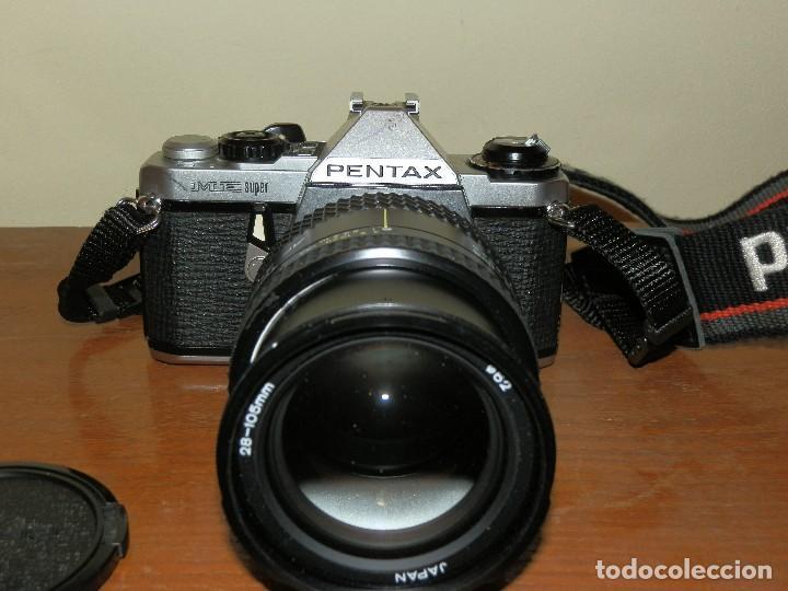 Cámara de fotos: Camara de fotos Pentax ME super mas objetivo Tokina 28-105 - Foto 2 - 112464143