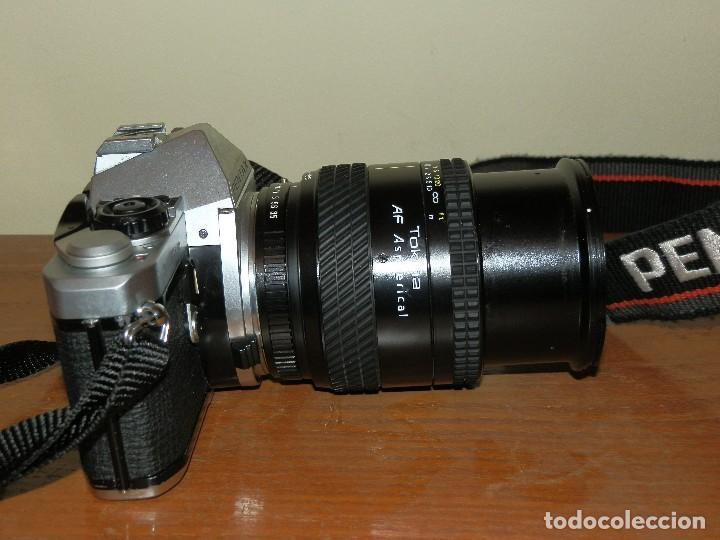 Cámara de fotos: Camara de fotos Pentax ME super mas objetivo Tokina 28-105 - Foto 3 - 112464143