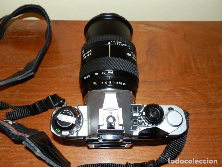 Cámara de fotos: Camara de fotos Pentax ME super mas objetivo Tokina 28-105 - Foto 4 - 112464143