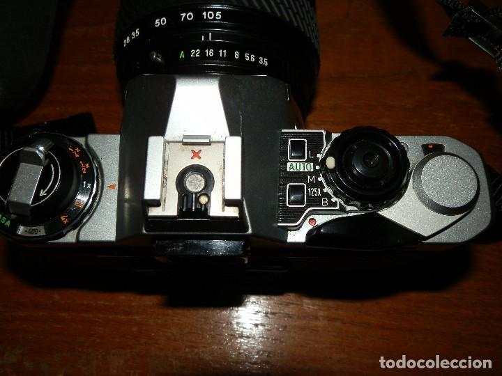 Cámara de fotos: Camara de fotos Pentax ME super mas objetivo Tokina 28-105 - Foto 6 - 112464143