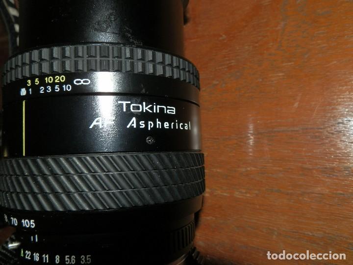 Cámara de fotos: Camara de fotos Pentax ME super mas objetivo Tokina 28-105 - Foto 7 - 112464143
