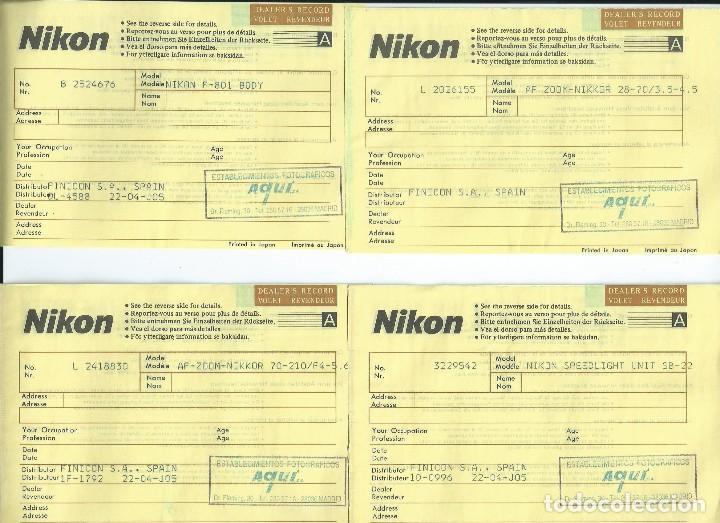 Cámara de fotos: CAMARA RÉFLEX NIKON AF-801 CON 2 OBJETIVOS AF ZOOM NIKKOR Y FLASH ELECTRÓNICO NIKON SB-22 - Foto 18 - 119858407