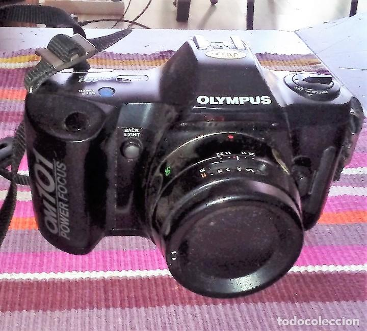 Cámara de fotos: CAMARA REFLEX OLYMPUS OM 101 POWER FOCUS + FLASH T18 + MALETÍN VER FOTOGRAFÍAS - Foto 3 - 114143723