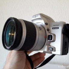 Cámara de fotos: CAMARA FOTOS FOTOGRAFICA ANALOGICA REFLEX MINOLTA 404 SI - DYNAX. OBJETIVO 28 - 80. PERFECTO ESTADO.. Lote 114339887