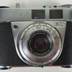 Cámara de fotos: CÁMARA FOTOGRÁFICA KODAK RETINETTE 1A. ALEMANIA 1963.. Lote 115552499