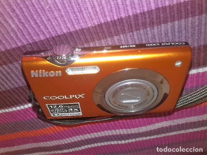 CÁMARA DIGITAL NIKON COOLPIX S3000 12 MEGAPIXELS WIDE 4X ZOOM LCD (Cámaras Fotográficas - Réflex (autofoco))