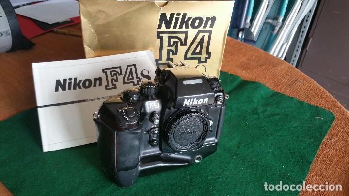 NIKON F4S (Cámaras Fotográficas - Réflex (autofoco))