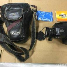 Cámara de fotos: CAMARA FOTOGRAFICA CHINON GS-7 REFLEX ZOOM, 1989, CON FUNDA. Lote 119174907