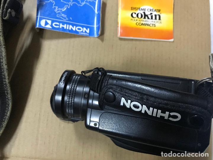 Cámara de fotos: CAMARA FOTOGRAFICA CHINON GS-7 REFLEX ZOOM, 1989, con funda - Foto 3 - 119174907