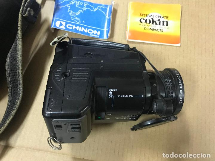 Cámara de fotos: CAMARA FOTOGRAFICA CHINON GS-7 REFLEX ZOOM, 1989, con funda - Foto 4 - 119174907
