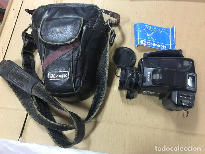 Cámara de fotos: CAMARA FOTOGRAFICA CHINON GS-7 REFLEX ZOOM, 1989, con funda - Foto 6 - 119174907