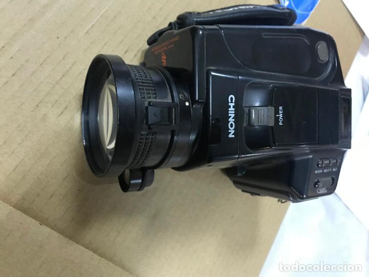 Cámara de fotos: CAMARA FOTOGRAFICA CHINON GS-7 REFLEX ZOOM, 1989, con funda - Foto 11 - 119174907